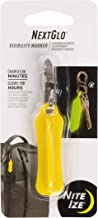 Nite IZE NextGlo Visibility Marker with S-Biner Clip, Patented Glow in The Dark Technology, Clip It Anywhere