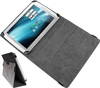 DURAGADGET Black PU Leather Flip Case Cover With Stand For Archos 97b Titanium, Archos 101 G9, 101 XS Gen 10, 101 Internet Tablet, Arnova 10b G3 & Arnova 10c G3 Tablet-PC