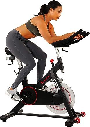 Sunny Health & Fitness Cinturón Magnético para Bicicleta de Interior con Gran Capacidad de Peso y Soporte para Tablet