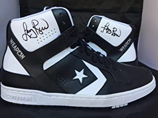 2411bba3319 Larry Bird signed Converse Weapons autographed shoes Celtics AC22005  AC22006 - PSA DNA Certified -