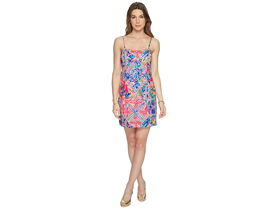 Lilly Pulitzer Shelli Stretch Shift (Multi Dancing on The Deck) Women