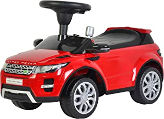 KIDS PREFERRED Licensed to Ride-On Land Rover Range Rover Evoque - Riding Toy for Toddlers with Sounds - Red