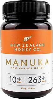 New Zealand Honey Co. Raw Manuka Honey UMF 10+   MGO 263+, 17.6oz / 500g