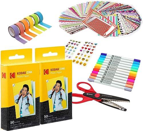 wholesale Kodak wholesale 2x3ʺ Premium Zink Paper popular 100 Pack Scrapbook Bundle outlet sale