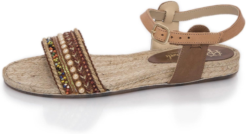 MTBALI - Espadrille Sandals, Woman-Model Artisan Low