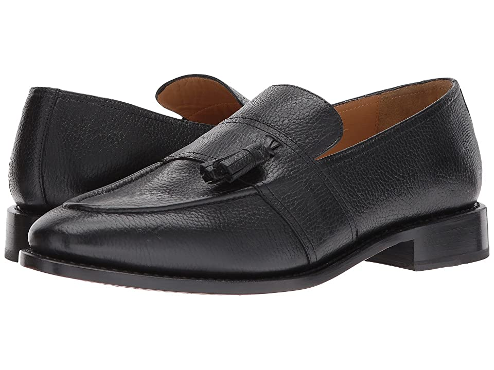 Michael Bastian Gray Label Sidney Tassel Loafer (Nero) Men's Slip-on Dress Shoes