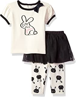 Baby Girls' Shirt and Tutu Capri Set