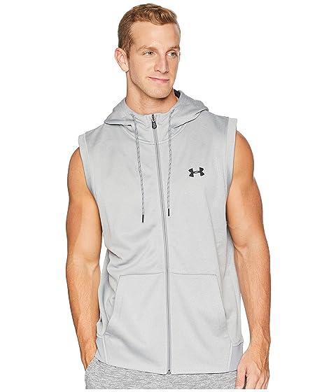 a3e7d6b746ea9 Under Armour Armour Fleece Sleeveless Full Zip Hoodie at Zappos.com