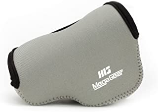 MegaGear Ultra Light Neoprene Camera Case Compatible with Panasonic Lumix DC-GX850, DC-GF9, DMC-GF8, DMC-GF7 (12-32mm)