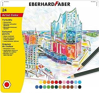 Eberhard Faber 516124 kredki Artist Color, 24 szt. blaszane etui