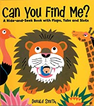 Can You Find Me?: Hide & Seek w/ Flaps, Tags, Slots