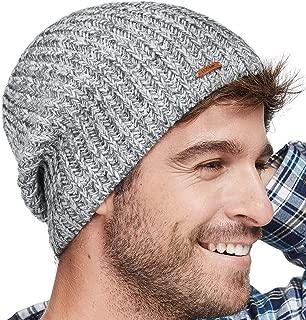 Winter Beanie Skull Cap Warm Knit Fleece Ski Slouchy Hat for Men & Women