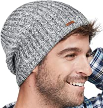 LETHMIK Winter Beanie Skull Cap Warm Knit Fleece Ski Slouchy Hat for Men & Women