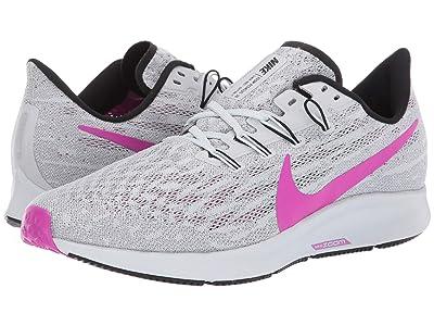 Nike Air Zoom Pegasus 36 (Pure Platinum/Hyper Violet/Cool Grey) Men