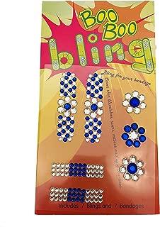 Boo Boo Bling Crystal Bandages - Denim Blue