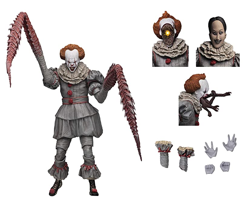 "NECA - IT - 7"" Scale Action Figure - Ultimate Pennywise The Dancing Clown (2017)?"