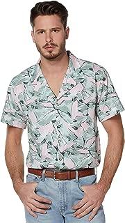 Stranger Things Hopper Button Down Shirt   Officially Licensed