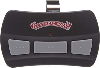Garage Door Opener Visor Remote by Overhead Door - CodeDoger - Three Button - OCDTR-3,black and red,1 Pack