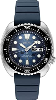 Seiko Prospex Special Edition SRPF77 Blue Silicone Automatic Day Date Diver's Watch