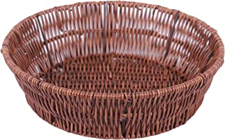 Malabar Fiber Chapati/Roti Basket for Serving, Fruits, Vegetable Basket for Table, Home & Kitchen Tray (Round)