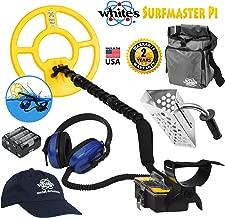 Whites Surfmaster PI Dual Field Underwater Detector Bundle w/Accessories