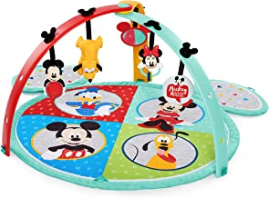 Disney Baby Mickey Mouse Easy Store Playmat, multicolor