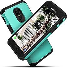 Celljoy Case compatible with Samsung Galaxy J3 2018/J3 Achieve/J3 Star/J3 V 3G [Liquid Armor]((Shock Proof)) Slim Protection [Hybrid TPU Hard PC Shell](Metallic Teal)