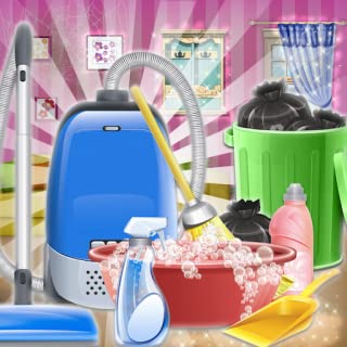 Sweet Girl House Cleaning - My Home Cleanup Game - Sweet Home Day Care - House Cleanup Daily Activity - My Lovey House Mak...