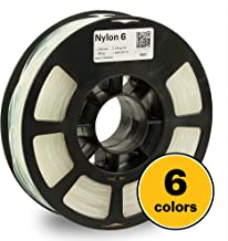 KODAK 3D printer filament NYLON 6 NATURAL color, +/- 0.03 mm, 750g (1.6lbs) Spool, 2.85 mm. Lowest moisture premium filament in Vacuum Sealed Aluminum Ziploc bag. Fit Most FDM Printers