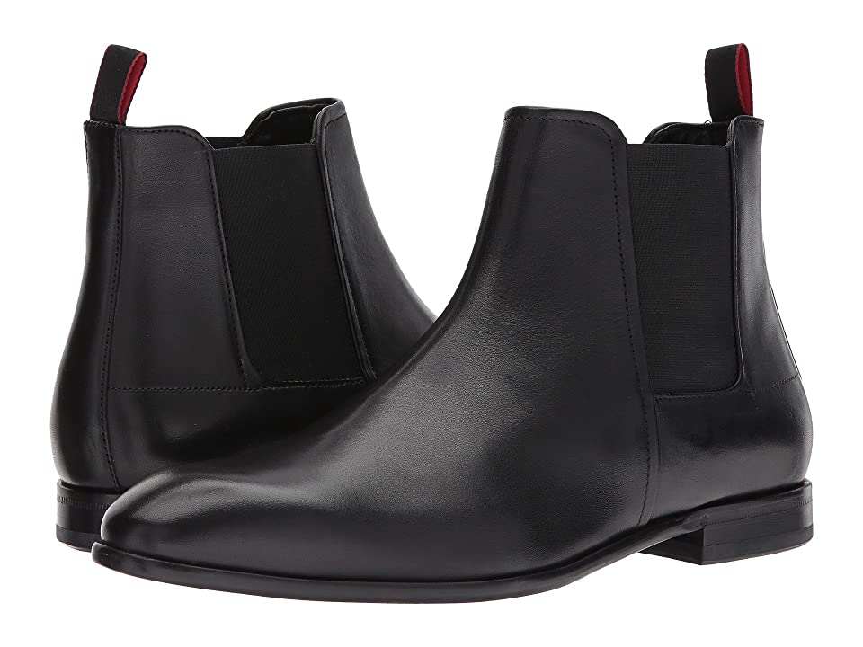 BOSS Hugo Boss Dress Appeal Chelsea Boot by HUGO (Black) Men