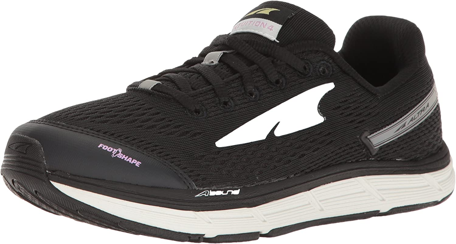 Altra Women's Intuition 4 Running shoes, Black, 7 M US
