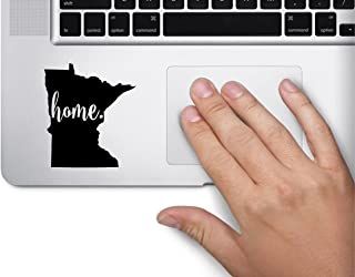 ExpressDecor #3 Home Minnesota Keypad Saint Paul State Computer Laptop Symbol Decal Family Love Car Truck Sticker Window (Black)
