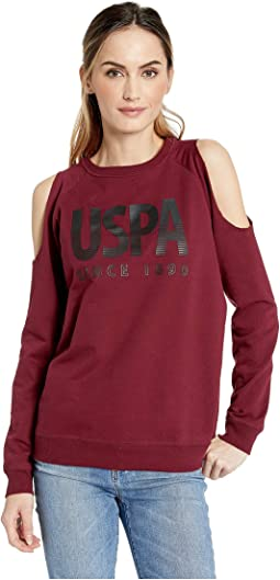 Cold Shoulder Fleece