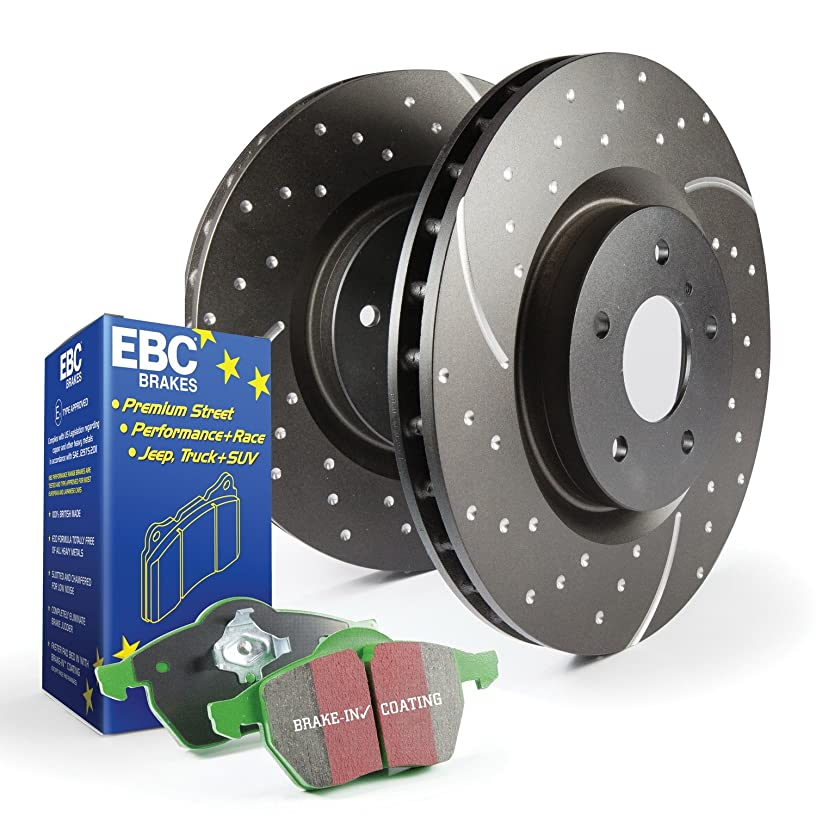 EBC S3KR1047 Stage-3 Truck and SUV Brake Kit
