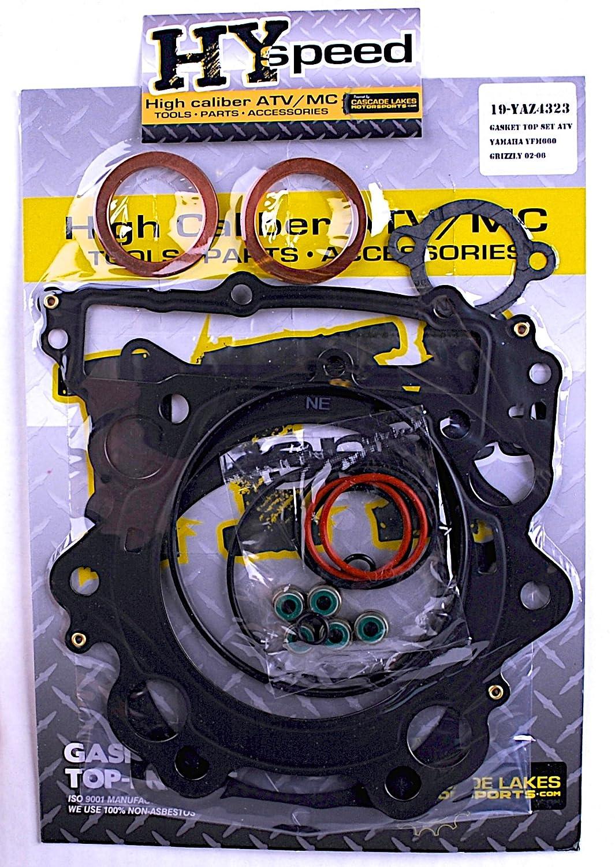HYspeed Miami Mall Top End Head Gasket Kit Oakland Mall Rhino 2004–2007 660 4x4 Gri