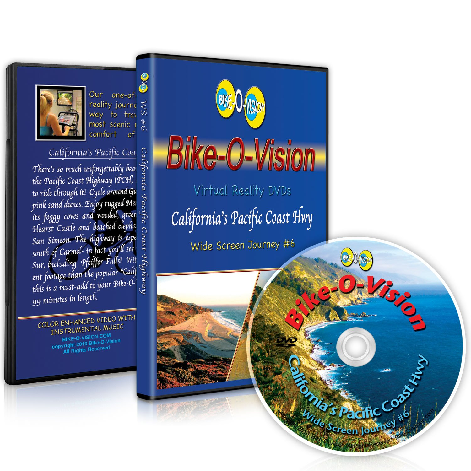 Bike-O-Vision Cycling Video- Cheap super special price California's Coast Cheap mail order sales Pacific Highway