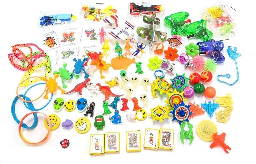 Edison Novelty 100 Piece Bulk Toy Party Mix