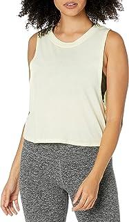 Alo Yoga Women's Heat-Wave Crop Tank Yoga Shirt