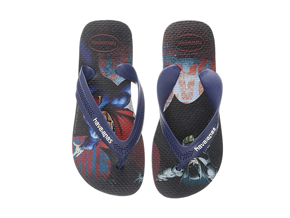 Havaianas Kids Max Heroes Flip Flops (Toddler/Little Kid/Big Kid) (Indigo Blue) Boys Shoes