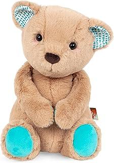 B. toys by Battat Happy Hues – Cara-mellow Bear – Soft & Cuddly Plush Teddy Bear – Huggable Stuffed Animal Bear Toy – Wash...