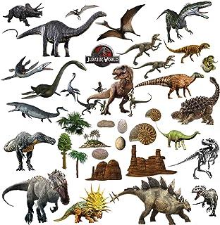 Stickers muraux dinosaures confettis