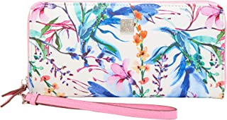 Slim Zip Wallet w/Wristlet