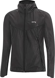 GORE WEAR H5 Ladies Hooded Jacket Gore-TEX Active, Size: XL, Colour: Bordeaux/Pink