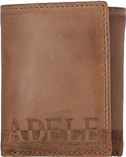 addon adele Tan Tri-Fold Men's Wallet