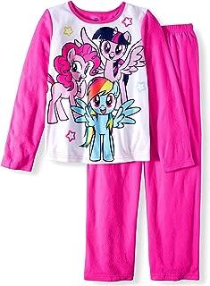 Girls My Little Pony 2 pc Brushed Jersey Long Sleeve Pajamas