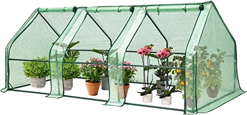popular VIVOSUN wholesale Portable Green House with wholesale Roll-up Large Door, 94.5x36x36-Inch Low Tunnels for Garden Plant online sale