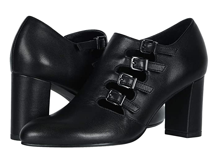 Edwardian Shoes & Boots | Titanic Shoes David Tate Pause Black Suede Soft Calf Womens Shoes $139.90 AT vintagedancer.com
