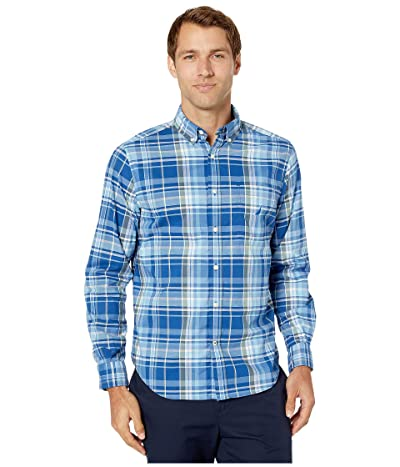 Nautica Casual Plaid Woven (Limoges) Men