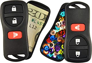 Festivaults The Snea-Key Fob Twofer (2-Pack), Diversion Safe, Secret Stash Box, Fake Car Key, Hidden Compartment