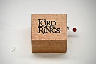 Piccolo carillon in legno di qualità con la melodia del film Il Signore degli Anelli (The Lord of The Rings). Un regalo id...